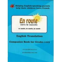 Buy cheap English Translation Companion Book for En route vers le succes Grades 1, 2 and 3 from wholesalers