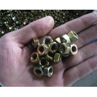 Buy cheap Yellow zinc hex nut Wire mesh from wholesalers