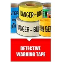 Buy cheap Detective Warning tape from wholesalers