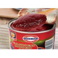 Buy cheap Nutritious Mix Fruit Jam / Canning Apple Fruit Jam No Artificial Colors from wholesalers