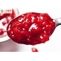 Buy cheap Red Strawberry Flavor Canning Fruit Jam In Normal Temperature Easy Open Lid from wholesalers