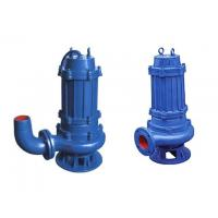 QW type no-blocking movable submersible sewage pump