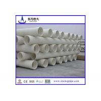 Certificated PVC pipe suppliers