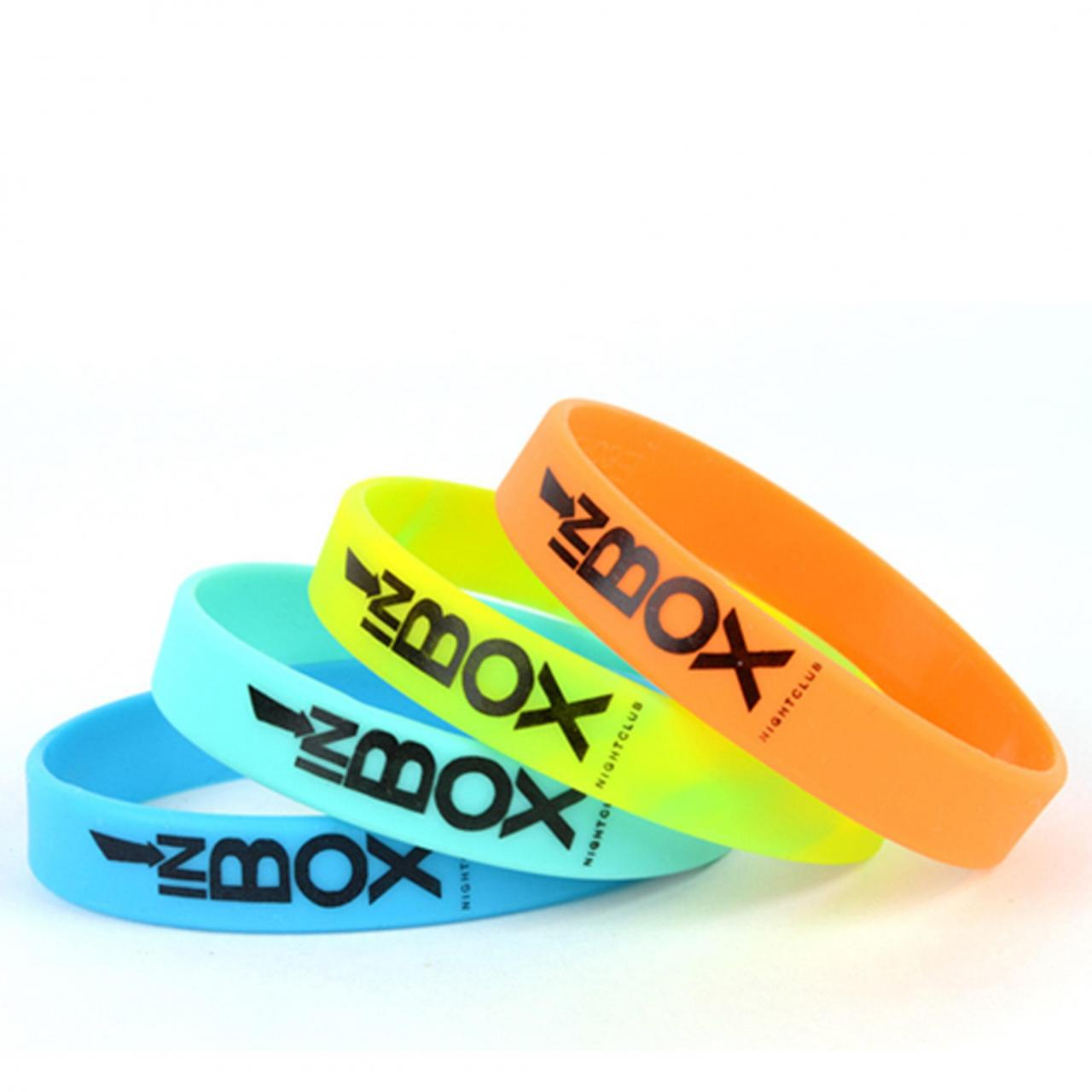 Buy cheap Silkscreen Silicone Wristbands from wholesalers