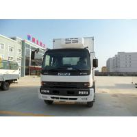 Buy cheap ISUZU FTR refrigerator truck white color from wholesalers