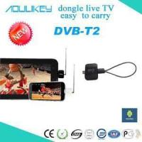 Buy cheap DVB-T2 dongle DVB-T2 pad TV tuner from wholesalers