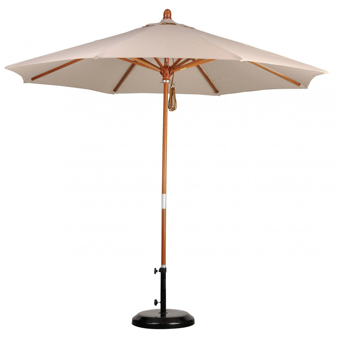 Buy cheap Wooden Patio Umbrella from wholesalers