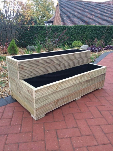 Buy cheap Wooden Veg Planters from wholesalers