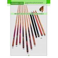 Buy cheap BILLIARD CUES 5001~8 from wholesalers