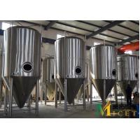 Buy cheap 15BBL/30BBL/60BBL Conical fermentation tanks from wholesalers