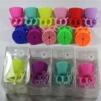 Buy cheap Silicone Nail Art Polish Holder Flexible Durable Wearable Finger Bottle Stand from wholesalers