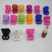 Buy cheap Silicone Wearable Hand Finger Nail Polish Holder from wholesalers