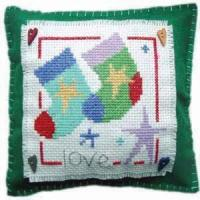 Buy cheap Cross Stitch Stocking Cushion from wholesalers