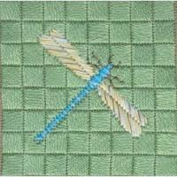 Buy cheap Canvas Embroidery Dragonfly product