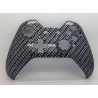 Buy cheap E-MODS GAMING Xbox Original One Hydro Dipped Black Carbon Fibre Controller Shell Mod - Front Shell from wholesalers
