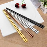 Buy cheap Stainless Steel Hollow Chopsticks from Wholesalers