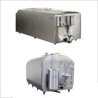 Milk Cooling Tanks With Integrated Ice Water