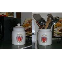 Buy cheap Cookie Jar / Canister with Family Crest / Coat of Arms from wholesalers