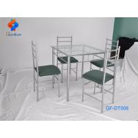 Buy cheap steel dining table and chair sets from wholesalers