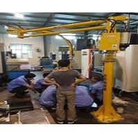 BL - PA ground stationary - pneumatic clamping jaw can be 90 degree turn