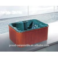 Buy cheap Mini bathtub outside garden spa massage hot tub from wholesalers