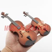 Miniature violin mini cello toy christmas ornament craft Musical Instrument