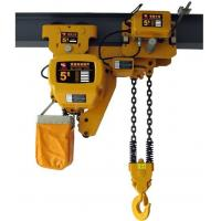 Buy cheap Electric Chain Hoist with Overload Limiter from wholesalers