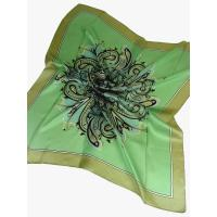 Buy cheap Upscale Large 100% Pure Silk Satin Square Scarf Wrap from wholesalers