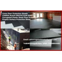 Buy cheap Correx Sheet 1.2Mtrx2.4Mtr 2mm Plastic Black Protection Board from wholesalers