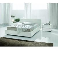 Buy cheap Strip - White Crocodile Texture Eco-Leather Bed - Made in Italy Bedroom Furniture from wholesalers