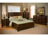 Buy cheap Windsor Tall Boy Chest In Cherry Bedroom Furniture from wholesalers