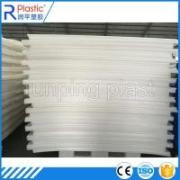 Buy cheap Polypropylene plastic corrugated sheets product