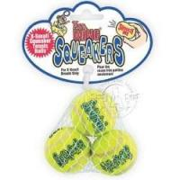 Buy cheap Dog toys 3 X-SMALL Airkong SQUEAKER Tennis Balls Dog Fetch Toys from wholesalers