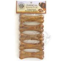 Buy cheap AKC Compressed Rawhide Bones with Pork Flavor 5-pk from wholesalers