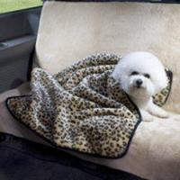Buy cheap Dog toys Luxury Two-Piece Fur Car Seat Cover and Blanket Set from wholesalers