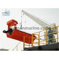Buy cheap Hydraulic Slewing Rescue Boat/Liferaft Davit & Crane from wholesalers
