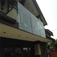 Buy cheap Residential Balcony Stainless Steel Hardware Frameless Glass Railing Systems PR-B64 from wholesalers