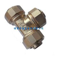 Buy cheap Plumbing Fittings Aluminum tube fittings tee pipe fittings for solar from wholesalers