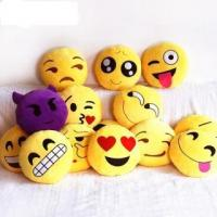 Buy cheap Emoji Decorative Throw Pillow Stuffed Smiley Cushion Home Decor For Sofa Couch Chair Toy Emotional from wholesalers