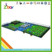 Buy cheap trampoline park Hot Imported CE Approved Designers Indoor Trampoline World from wholesalers