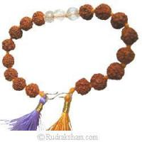Buy cheap Rudraksha Sphatik Bracelet from wholesalers