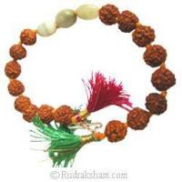 Buy cheap Rudraksha Cats Eye Bracelet from wholesalers