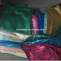 Buy cheap 4 Way Stretch Polyester Spandex Waterproof Foil Shiny Printed Fish Scale Spandex Fabric Wholesale from wholesalers