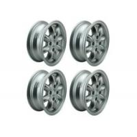 Buy cheap 5x13 Minilite Style Wheel Set Of 4 - Silver Et20 from wholesalers