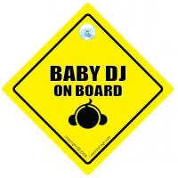 Buy cheap Baby DJ On Board Car Sign / Baby On Board from wholesalers