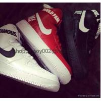 Buy cheap Men shoes Nike Supreme Air Force 1 SP High top men Women af1 World Famous sneaker Shoes from wholesalers