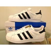 Buy cheap Adidas Superstar Original Black White Gold Stripes Shell Toe C77153 Women 5-11 from wholesalers