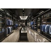 Buy cheap Clothing showcase series Large shopping malls high - end men shop display cabinets from wholesalers