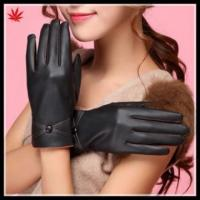 Buy cheap Cheap leather glove women importers for leather gloves from wholesalers