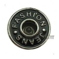 Buy cheap Metal Buttons 15mm-25mm Black Wholesale Jeans Buttons from wholesalers